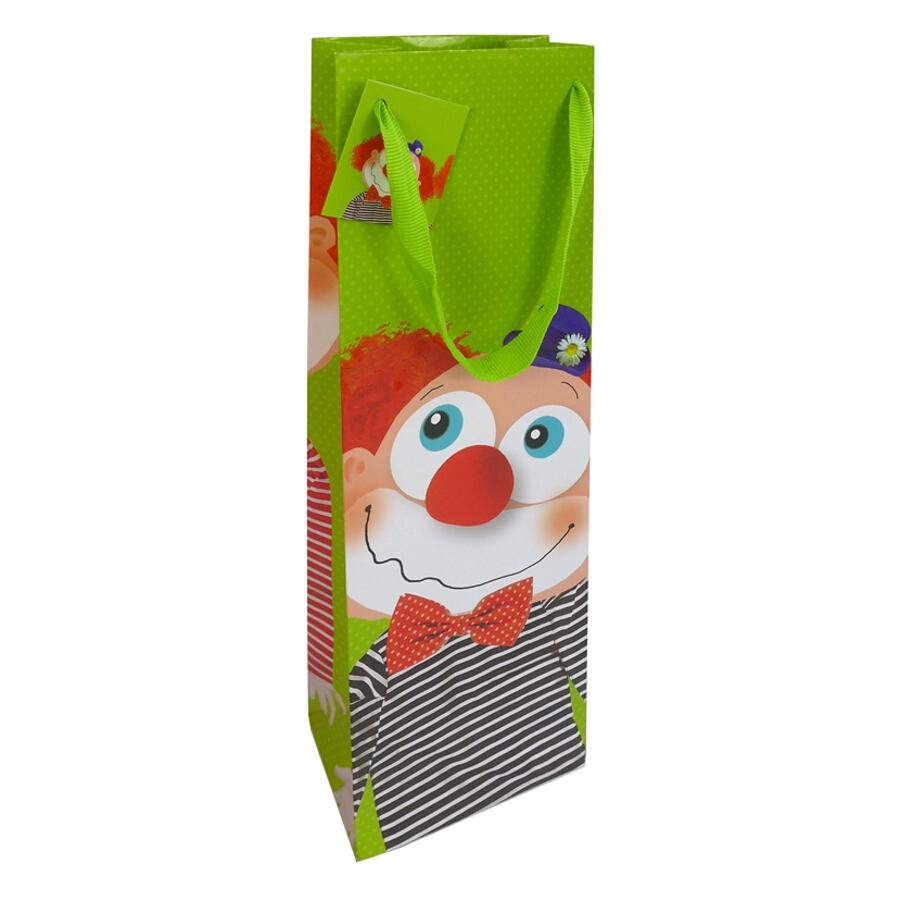 Presentpåse ''Clown'' - vinförpackning