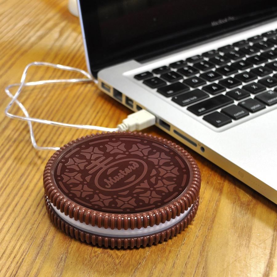 Kaffe-värmeplatta USB: Cookie/Kaka