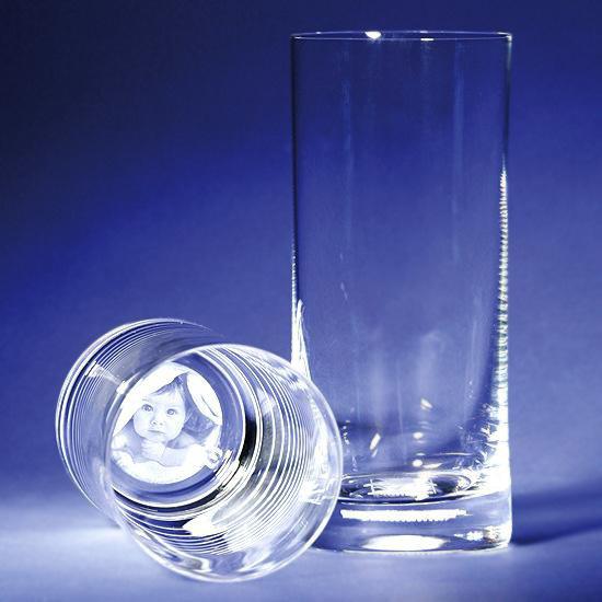 Glas med foto